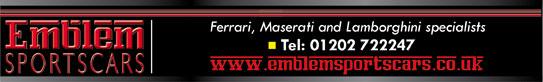 New Emblem Sports Cars banner