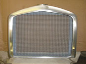 1919 Ballot radiator shell and mesh grille