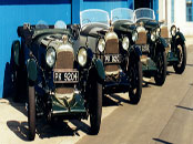 1929 Lagonda Le Mans Team Cars