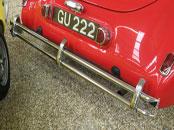 1939 Delahaye 135M Cabriolet Bumper Set