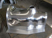 Austin Healey 3000 polished gearbox cover