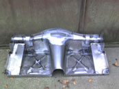 Jaguar SS100 rear floor pan
