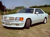 Emblem Mercedes-Benz 500 SEC AMG