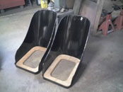 A pair of Vintage Bentley Seats