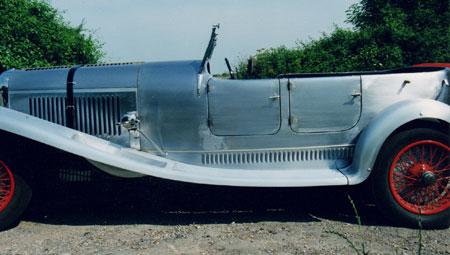 SHP Coachbuilt Lagonda M45 T5 drophead tourer, nearside