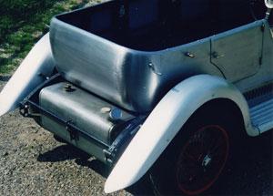 SHP Coachbuilt Lagonda M45 T5 drophead tourer, rear