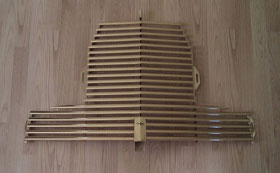 Aston Martin DB2 Front Grilles